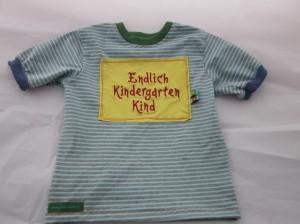 Endlich Kindergartenkind!