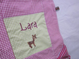Schnuffeltuch Lara