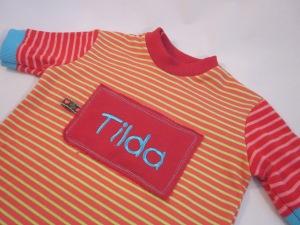 Namensshirt Tilda