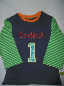 Blau-grün-orange