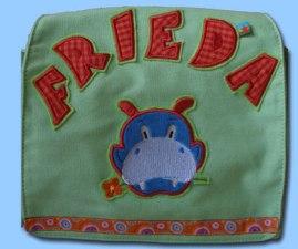 Tasche Frieda Nilpferd