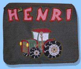 Tasche Henri Detailtraktor