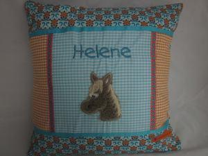 Kissen HELENE Pferdekopf