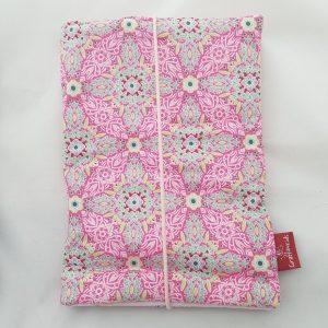 Windeltasche rosa-grün