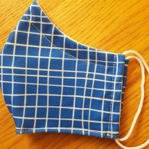 Damenmaske blau, Erlös für das Wolfgang Borchert Theater Münster