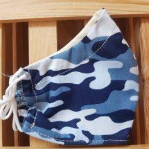 Kinder Camouflage blau