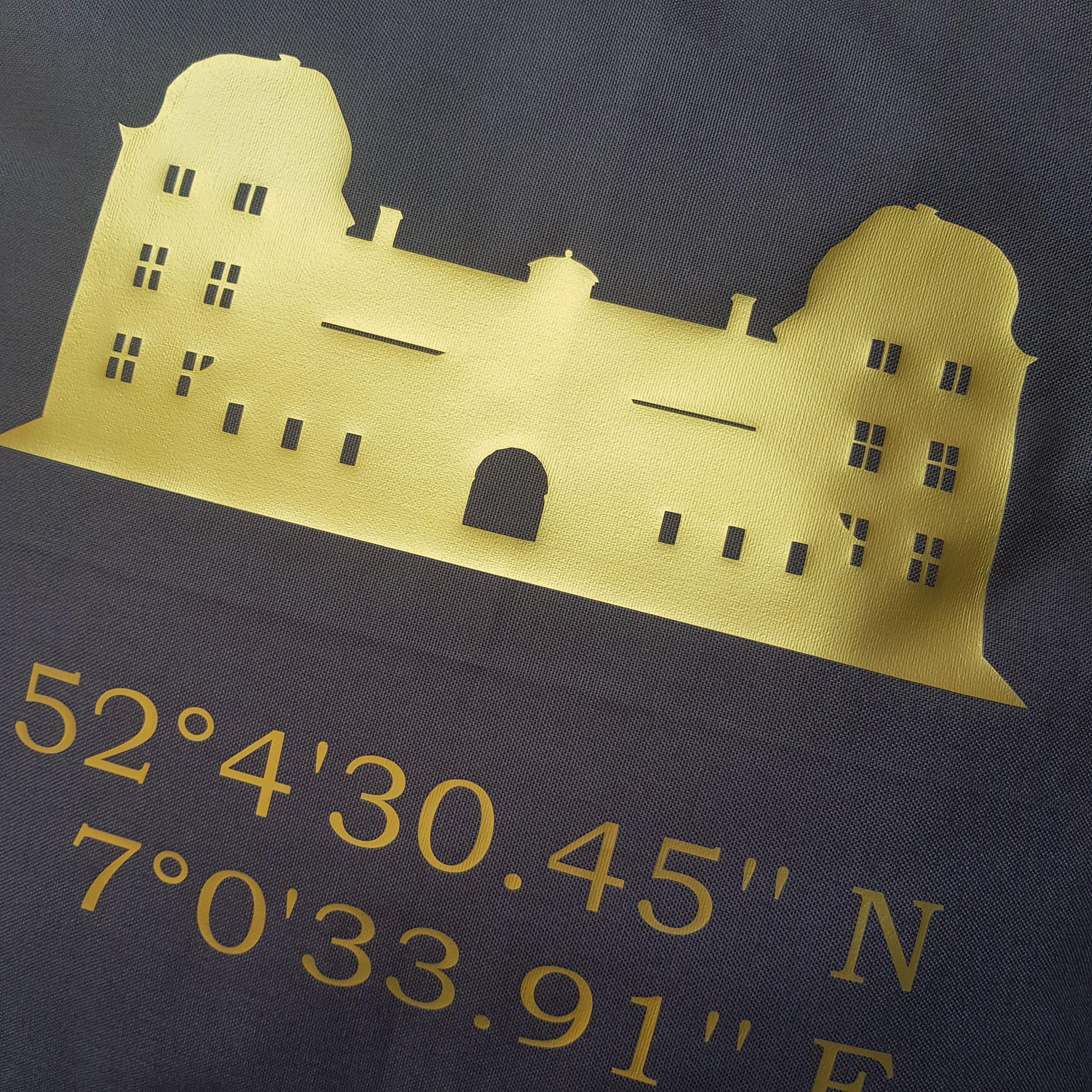 Schloss Ahaus (gold)